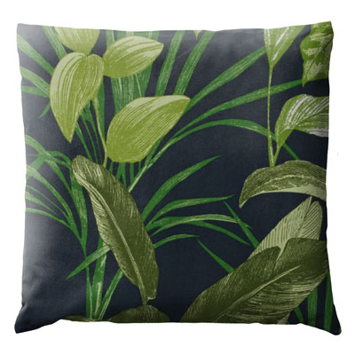 Coussin jungle marine