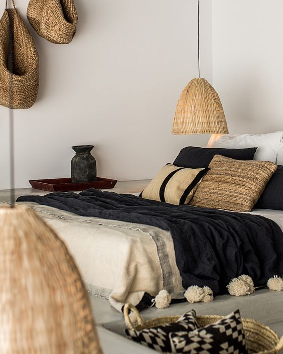 Chambre ambiance africaine