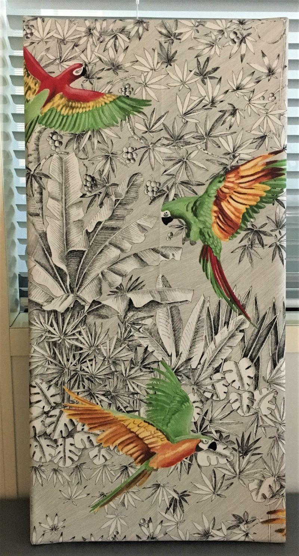 Comment Faire Un Tableau Avec Du Tissu diy, comment réaliser un tableau avec des chutes de tissus ?