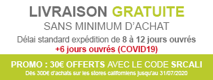 promotion store californien sur mesure occultant