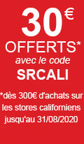 promotion stores californiens sur mesure