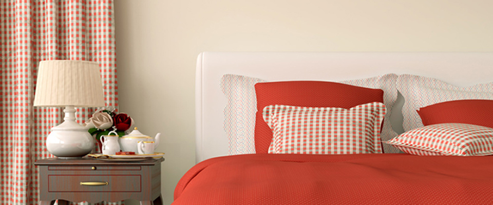 quels stores et rideaux dans une couleur rouge. Black Bedroom Furniture Sets. Home Design Ideas