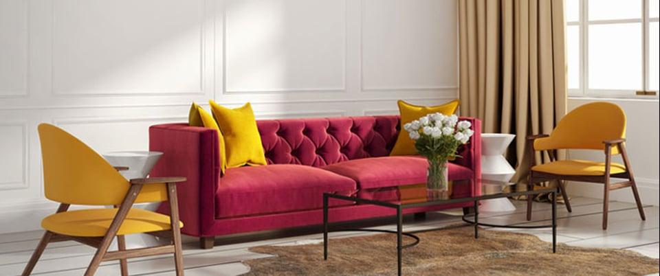 des stores et rideaux pour une ambiance arty. Black Bedroom Furniture Sets. Home Design Ideas