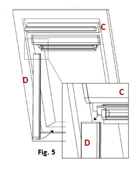 comment poser un store sur une fen tre velux. Black Bedroom Furniture Sets. Home Design Ideas