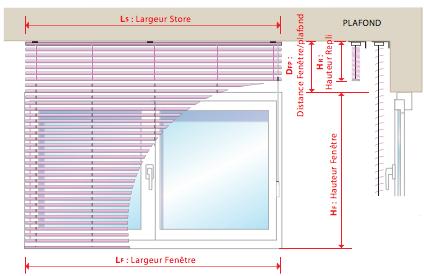 Comment prendre les mesures de votre store v nitien alu for Prise de mesure fenetre