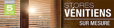 conseils pour acheter et poser un store v nitien bois sur. Black Bedroom Furniture Sets. Home Design Ideas