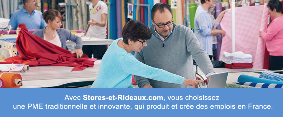 Stores et rideaux Made in PME