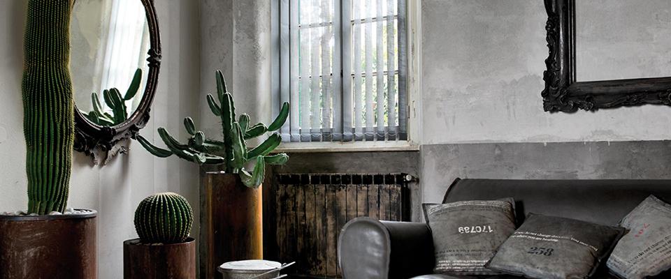 des stores et rideaux pour une ambiance industrielle. Black Bedroom Furniture Sets. Home Design Ideas