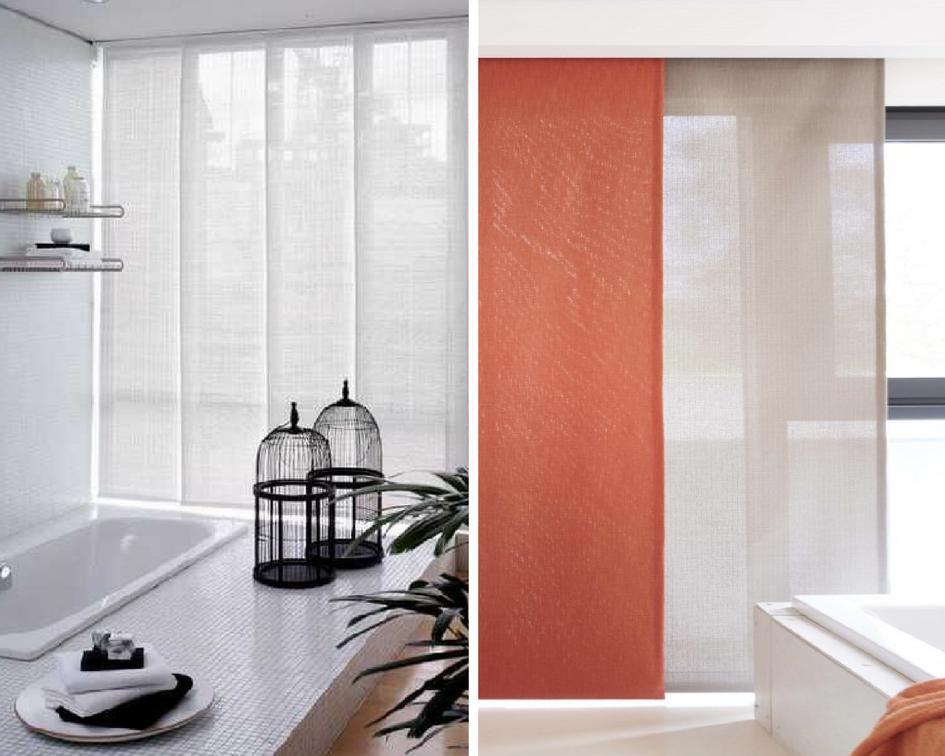 quel store ou rideau choisir dans une salle de bains conseils. Black Bedroom Furniture Sets. Home Design Ideas