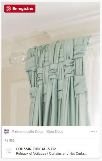 5 idées originales pour vos rideaux, dénichées sur Pinterest !