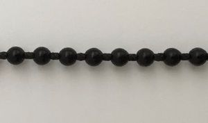 Chaînette PVC Noire