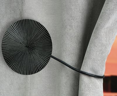 achat d 39 embrasses rideaux magn tiques embrasse rideaux petits prix. Black Bedroom Furniture Sets. Home Design Ideas