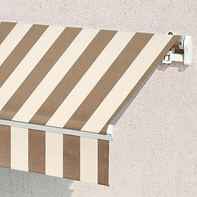 Store Banne Monobloc  Toiles Rayures Classiques Sur Mesure