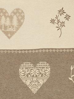 Achat de rideaux montagne sur mesure – Rideaux chalet motif montagne