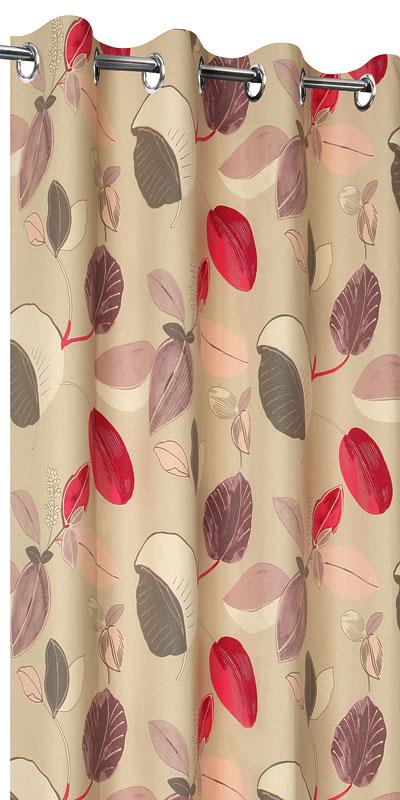 achat de rideaux fleurs sur mesure rideaux motif fleur. Black Bedroom Furniture Sets. Home Design Ideas