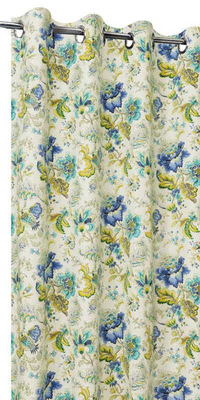 Achat de rideaux fleurs sur mesure rideaux motif fleur for Achat de rideaux
