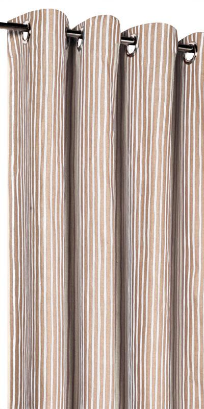 rideaux en lin motifs sur mesure. Black Bedroom Furniture Sets. Home Design Ideas